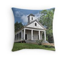 Stop in and pray Throw Pillow