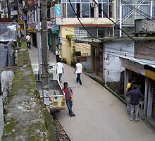 Bored in McLeod Ganj by Angie Spicer