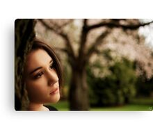 Wistfully Dreaming of You Canvas Print