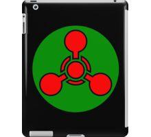 Chemical weapon symbol. Hazard sign. iPad Case/Skin