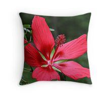 Radically Red Throw Pillow