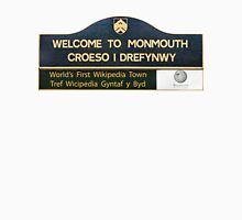 Welcome to Monmouth Womens Fitted T-Shirt