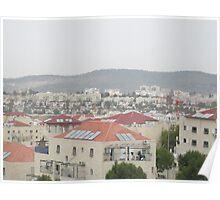 a historic Israel landscape Poster
