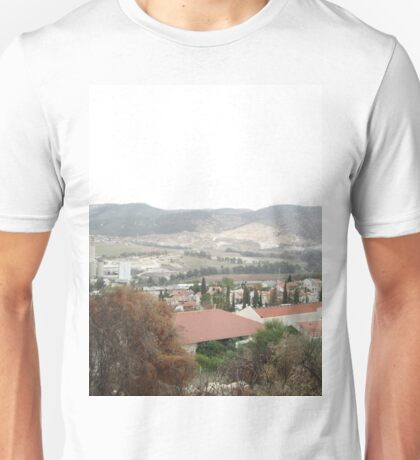 a large Israel landscape Unisex T-Shirt
