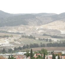 a large Israel landscape Sticker