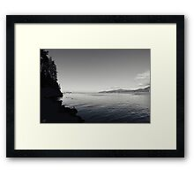 A Drop in the Ocean Framed Print