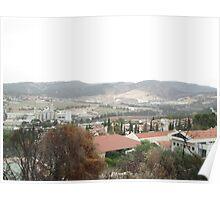 a large Israel landscape Poster