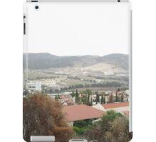 a large Israel landscape iPad Case/Skin
