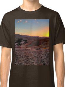 a sprawling Israel landscape Classic T-Shirt