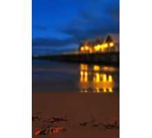 Busselton Footsteps Photographic Print