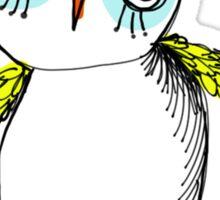 Ditzy owl Sticker