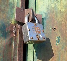 Rusty Lock by Angie Spicer
