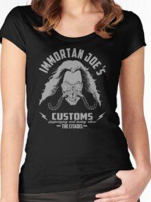 Immortan Joe's custom Women's Fitted Scoop T-Shirt