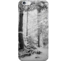 Smokey Mountain Trail - Infrared iPhone Case/Skin
