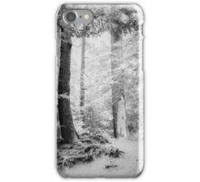 Smokey Mountain Trail - Infrared iPhone Case/Skin
