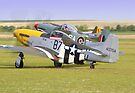 Mustang Scramble - Duxford 2015 by Colin  Williams Photography