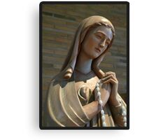 Virgin Mary II Canvas Print