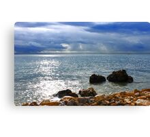 the Light is everywhere.... Canvas Print