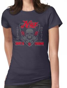 Nux custom motors Womens Fitted T-Shirt