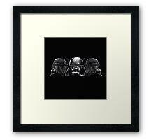 Darth Pig Framed Print