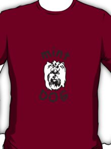Mint Dog Yorkshire terrier T-Shirt