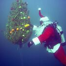 Scuba Santa by Walt Conklin