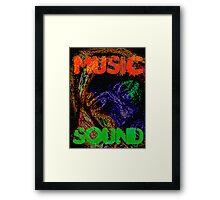 Music Sound Framed Print