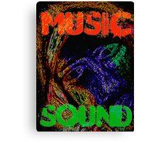 Music Sound Canvas Print