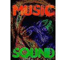 Music Sound Photographic Print