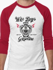 War Boys gasoline Men's Baseball ¾ T-Shirt