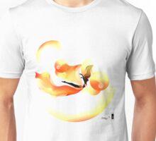 Floaty illustrate orange wings Unisex T-Shirt