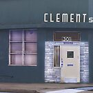 Clements Bar - Old Bar in a Run Down Part of Town  by Buckwhite