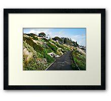Langmoor-Lister Gardens ~ Lyme Regis Framed Print