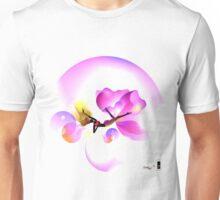 Floaty illustrate purple flower  Unisex T-Shirt