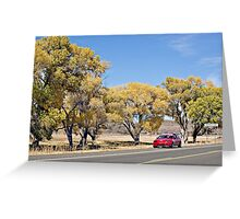 People's Valley Greeting Card
