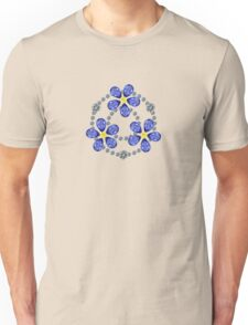 Forget Me Not Flowers Unisex T-Shirt