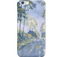 Wet Road, Woldgate iPhone Case/Skin