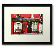 Irish pub Framed Print