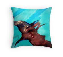 Marine Life Distortion... 1 Throw Pillow
