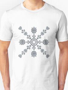 Valentine Snowflake Unisex T-Shirt