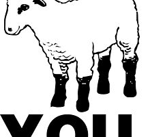 You Are a Sheep by fearandclothing