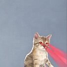 Laser Kitten by chelsgus
