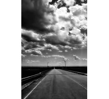 LONG ROAD TO SOMEWHERE Photographic Print