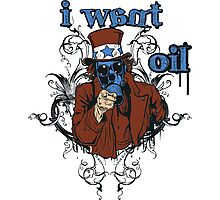I Want Oil Photographic Print