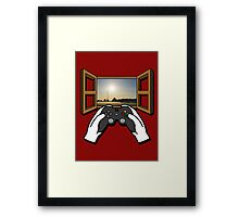 Let's Play Real Life Framed Print
