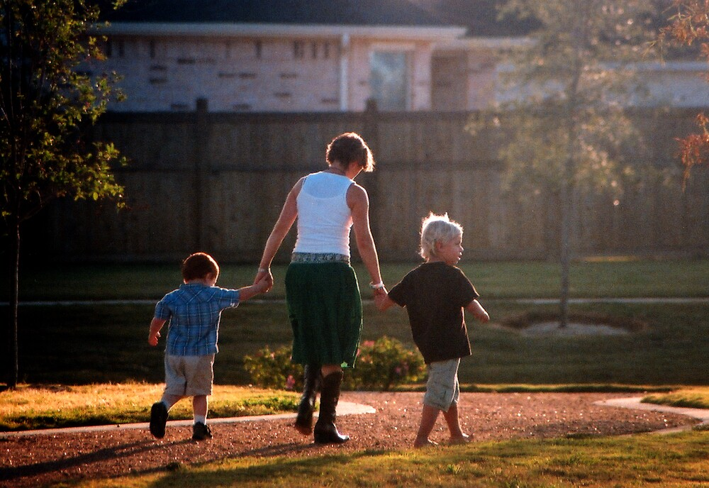 A Walk With Aunt Sanna by Tom Fant
