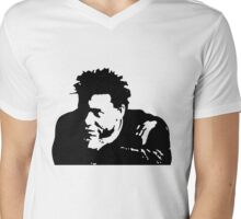 B&W Fortune Mens V-Neck T-Shirt