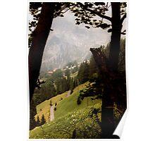Les Alpes Suisse Poster