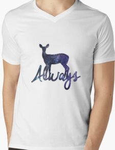 Always - Harry Potter Mens V-Neck T-Shirt