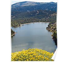 Lake in the Sierra Madre Mountains Poster